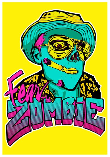 Fear the Zombie by myronmhouse