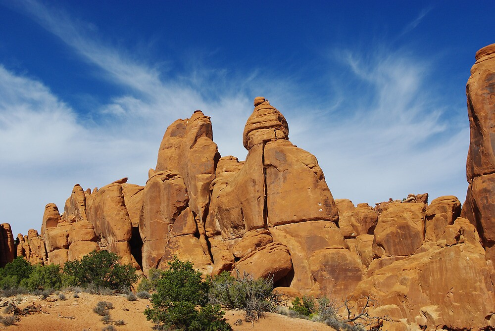 Arches National Park impression, Utah by Claudio Del Luongo