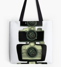 Camera tower Tote Bag