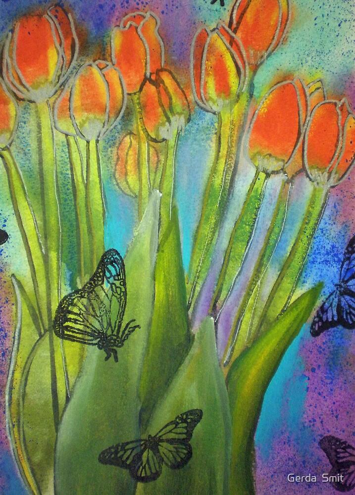 528 Painting by Gerda Smit by Gerda  Smit