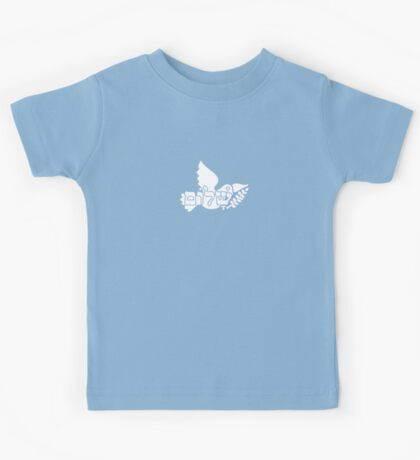 Shalom - Dove with the Olive Branch VRS2 Kids Clothes