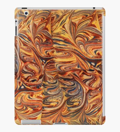 marbled paper - carnival splash iPad Case/Skin