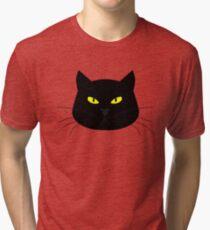 angry cat Tri-blend T-Shirt