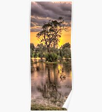 Reflections - Junee, NSW - The HDR Experience Poster
