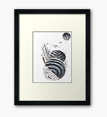 Labyrinthine Artefacts Framed Print