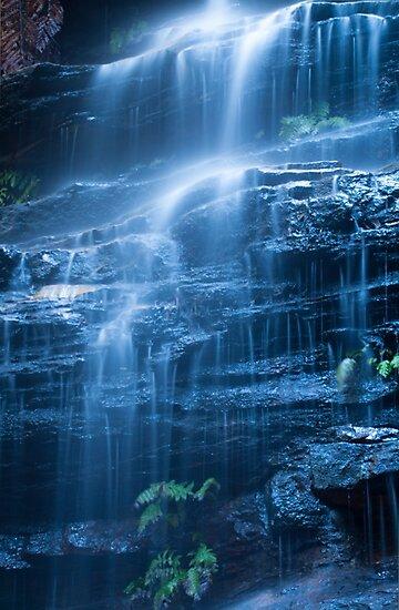 Blue Cascade by Jeanne Kinninmont