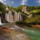 Plitvice lakes by Ivan  Prebeg