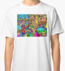 Rabbits on Vacation Classic T-Shirt