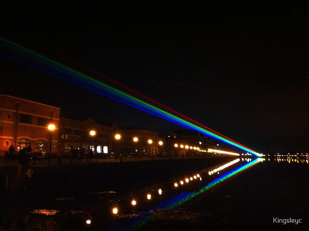 Olympic Lazar at Preston Dock by Kingsleyc