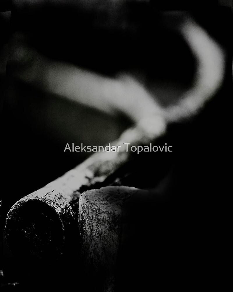 When I look at a solitary oak by Aleksandar Topalovic