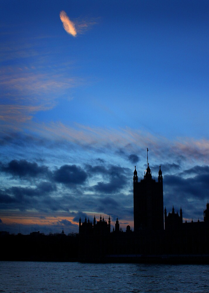 Houses of Parliament, London by EdPettitt