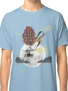 Flying Bicycle Classic T-Shirt
