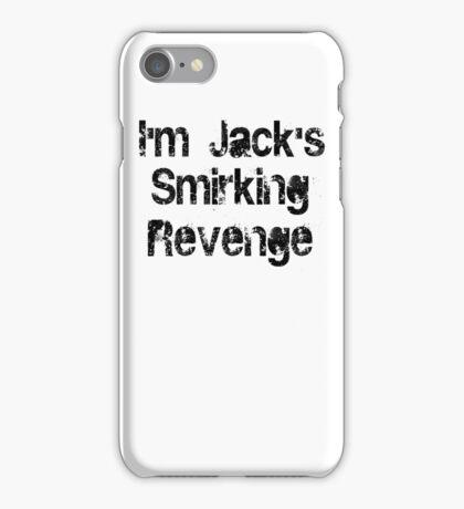 I'm Jack's Smirking Revenge Black Lettering iPhone Case/Skin