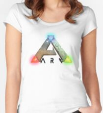 ARK Survival Evovled Women's Fitted Scoop T-Shirt