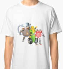 BurgerBot,Corn bot and beerbot by Valxart.com Classic T-Shirt