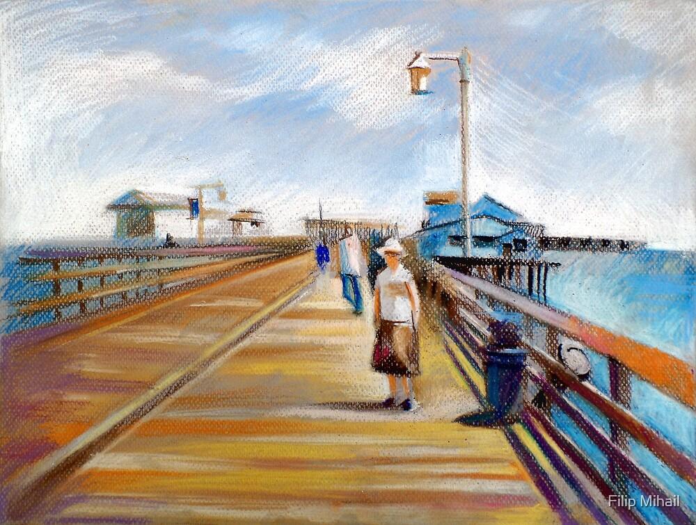 Santa Barbara - Stearns Wharf by Filip Mihail