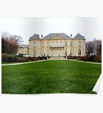 Hotel Biron from the garden side Poster