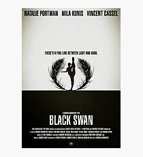 "Movie Poster - ""BLACK SWAN"" Photographic Print"