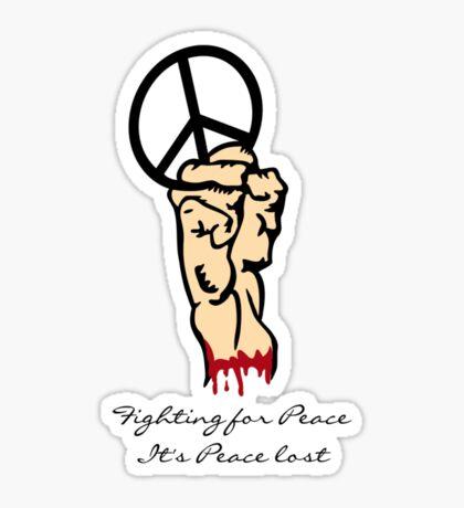 Peace Lost VRS2 Sticker