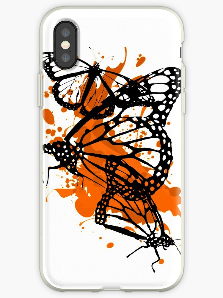 Splat Art - Monarch Butterfly by hartzelldesign