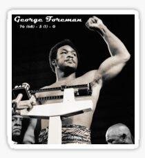 George Foreman Sticker