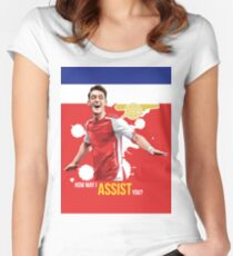 Mesut Ozil Women's Fitted Scoop T-Shirt