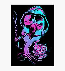 Fear & Loathing on Sesame Street Photographic Print