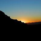 Sun Rising Behind Mountains by Alinta T. Giuca