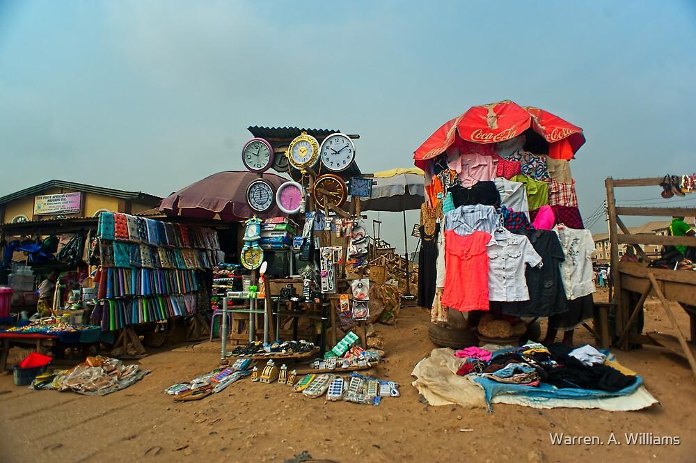 Street Shops Lagos 4 by Warren. A. Williams
