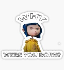 Coraline Wybie  Sticker