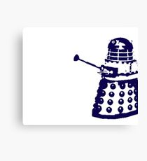 Dr Who Dalek Canvas Print