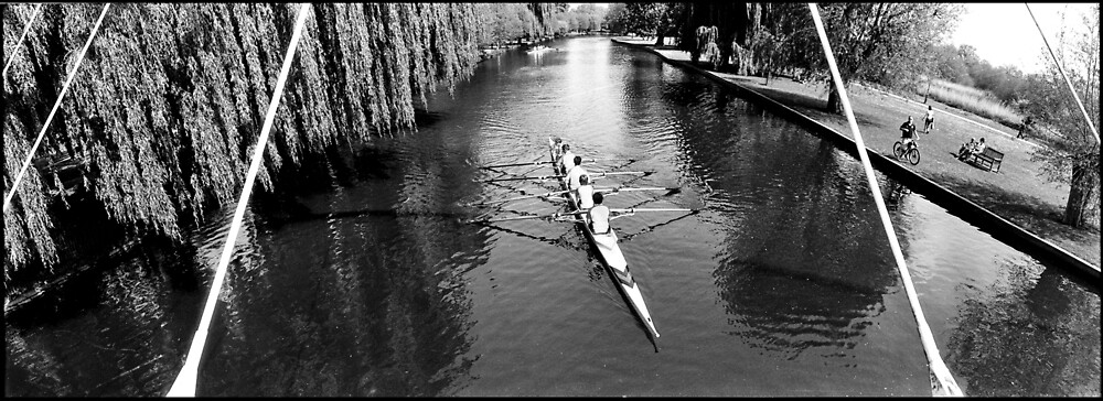 Rowing on the River Great Ouse, Bedford by DarrenLeeMarsh