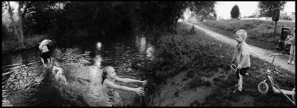 River Great Ouse, Queen's Park, Bedford by DarrenLeeMarsh