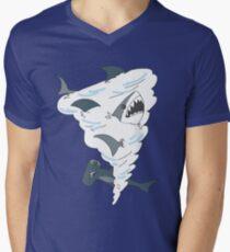 Sharknado V-Neck T-Shirt