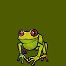 Let me be your happy frog by CatchyLittleArt