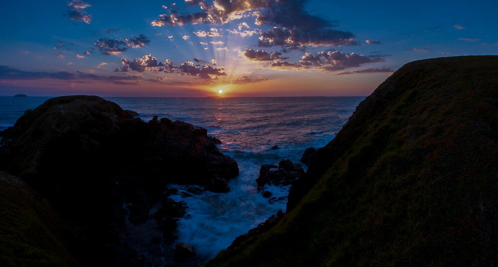Light breaking through by Liam Robinson
