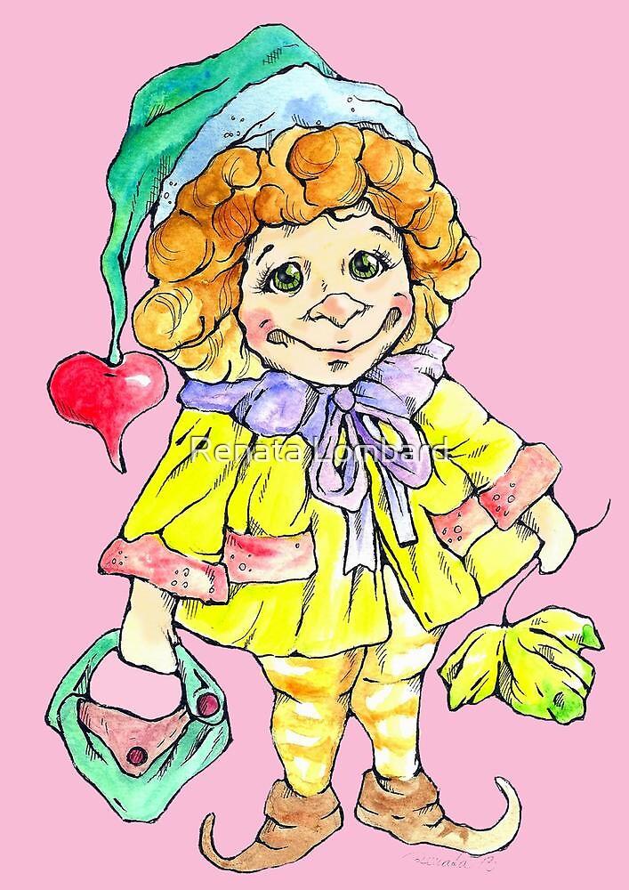 Little sweet fairy by Renata Lombard
