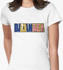 Abstraq Inc: BajanAKA Women's Fitted T-Shirt