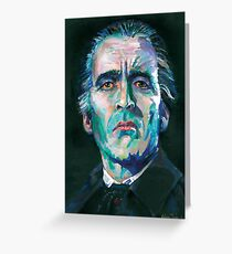 Dracula - Christopher Lee Greeting Card