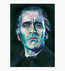 Dracula - Christopher Lee Photographic Print