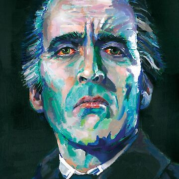 Dracula - Christopher Lee by AshleyThorpe