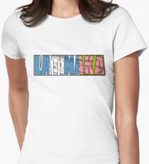 Abstraq Inc: LatinAKA (Guatemala) Women's Fitted T-Shirt
