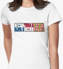 Abstraq Inc: LatinAKA (Panama) Women's Fitted T-Shirt