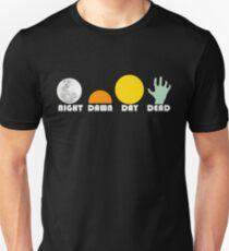 Camiseta ajustada La trilogía de muertos 1968-1985, blanco