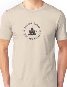 Coffee: Instant Human (black) VRS2 T-Shirt
