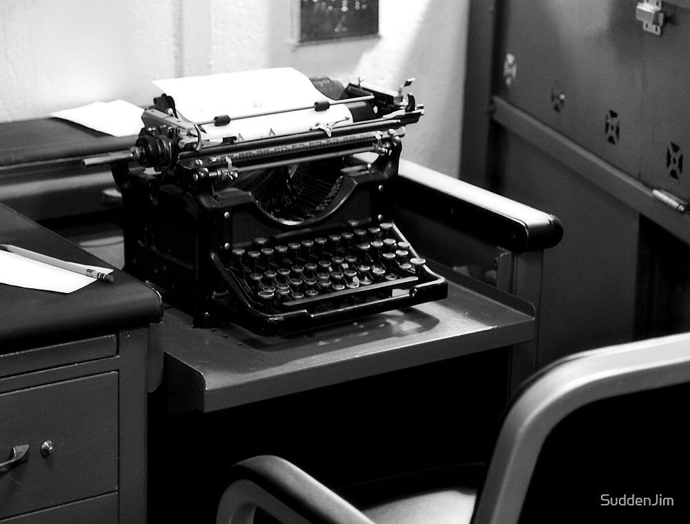"Remember The ""Typewriter""! by SuddenJim"