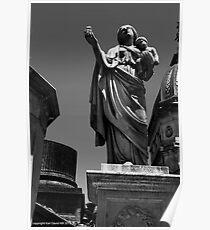 la recoleta cemetery 001 Poster