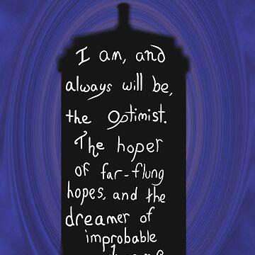 Dr. Who Optimist Quote by Indigo1563