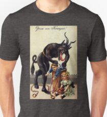 Krampus Greetings Unisex T-Shirt