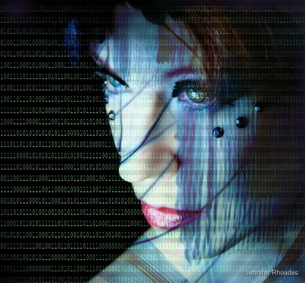 Binary Encoding I by Jennifer Rhoades